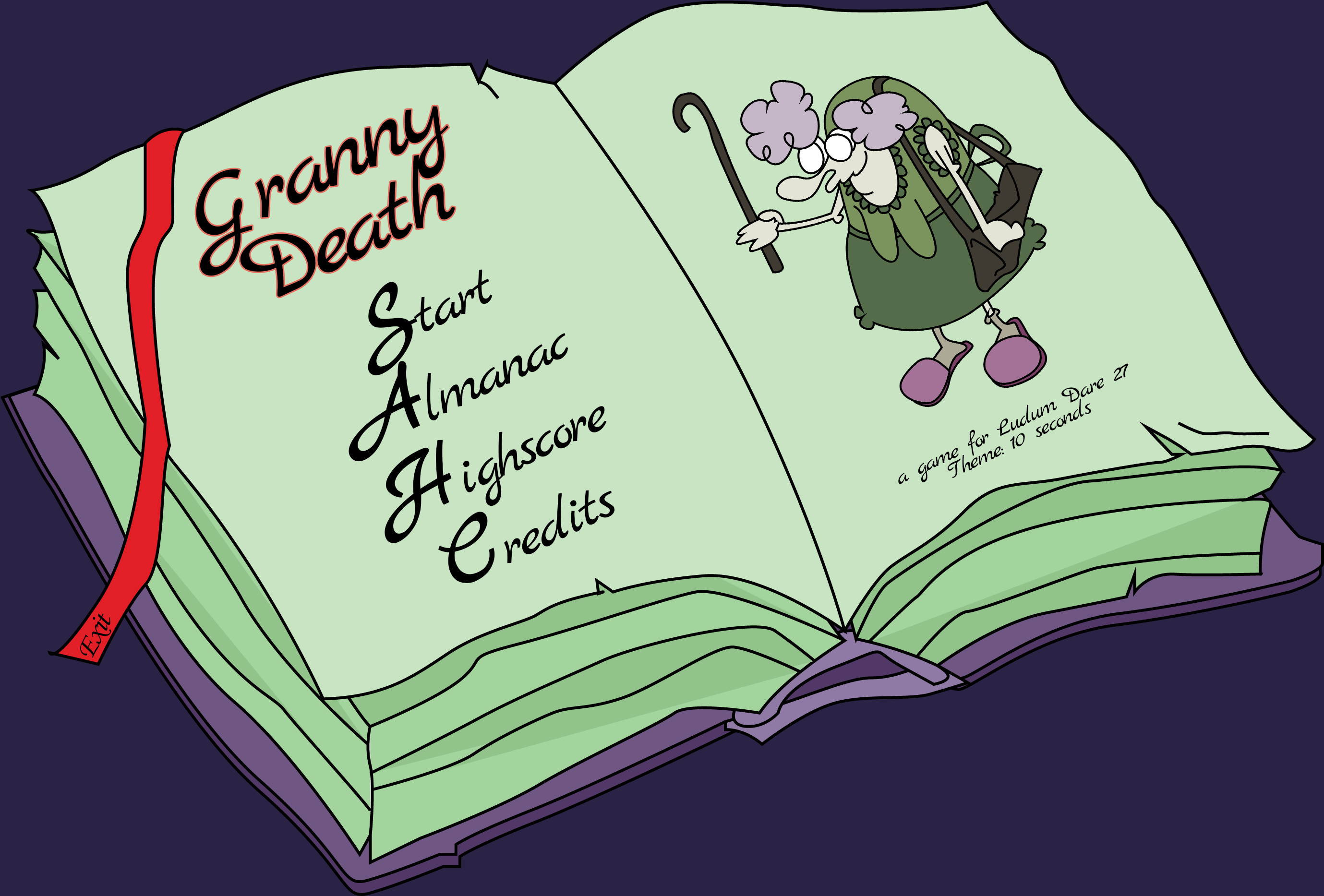 Book 1 - main menu